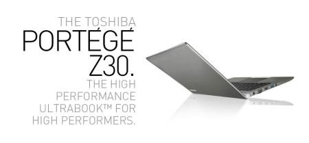 Ultrabook Toshiba Portégé, dirigido al mundo empresarial