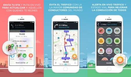 Waze lanza su versión 4.0 para iOS