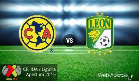 América vs León, Liguilla del Apertura 2015 ¡En vivo por internet! | Partido de ida