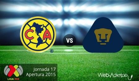 América vs Pumas, Última jornada del Apertura 2015