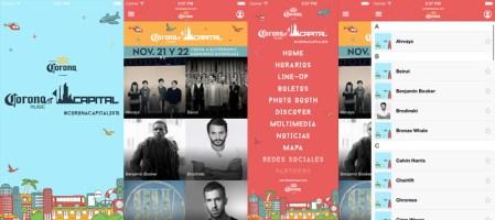 Conoce la app del Corona Capital 2015 y organiza tu día en el festival