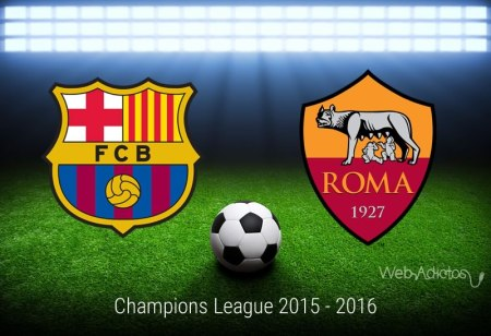 Barcelona vs Roma, Jornada 5 de Champions League 2015 – 2016