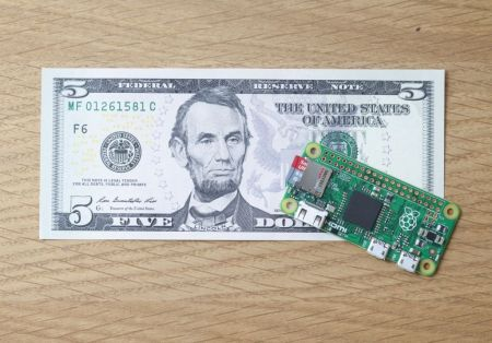 Raspberry Pi Zero: una micro computadora de 5 dólares