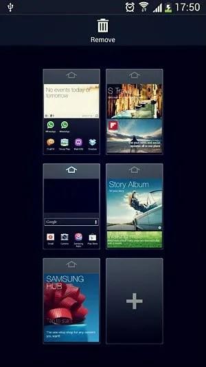 home screen edit mode
