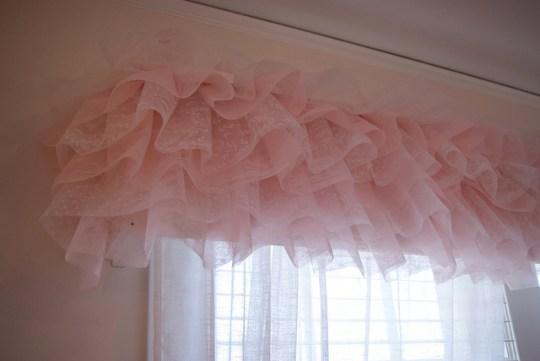 tutu curtain valance so cute girls bedroom most