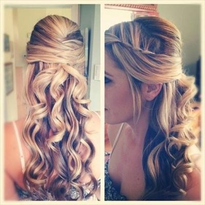 This is gorgeous! Half up, half down