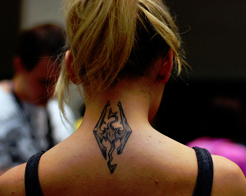 50 Back Neck Tattoos (49)