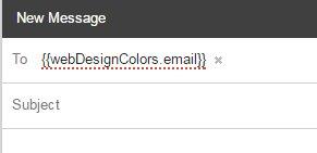 WebDesignColors.com Gmail Angular error