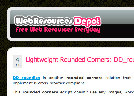 Web Resources Depot