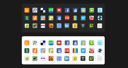 Social Media Mini Iconpack
