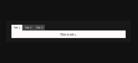 jquery tab navigation