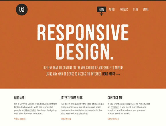 Inspiring Typography in Web Design