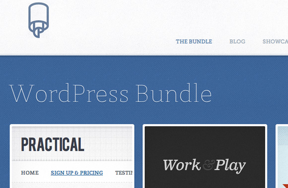 WPBundle selling premium WordPress themes