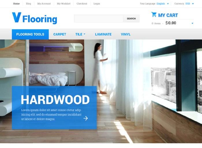 Flooring Magento Theme