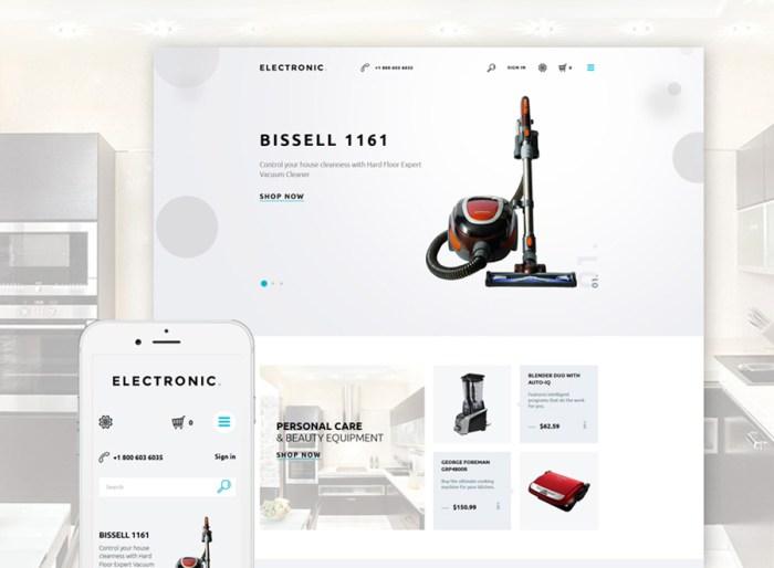 Electronics Store Responsive PrestaShop Theme