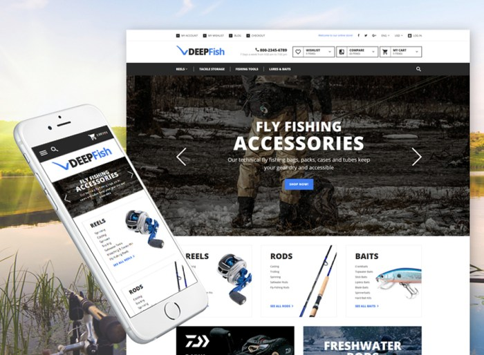 DeepFish Magento Theme