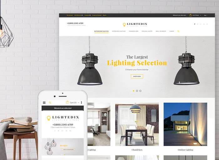Lightedix - Lightning Store Responsive Magento Theme