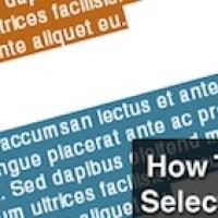 11 efectos de texto con CSS3