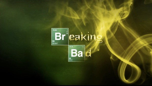 Breaking Bad Logo Title Sequence