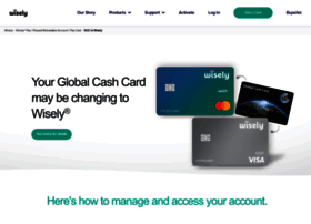 globalcashcard.com at WI. Global Cash Card - The Leader in Custom Paycard Solutions