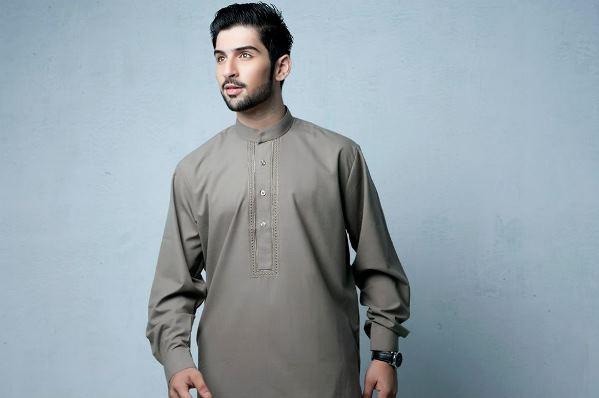 Latest Bonanza Kurta Salwar Suit Design for Men (1)