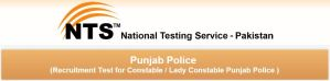 Punjab Police Male & Lady Constable NTS Test