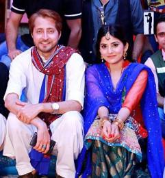 Host Sanam Baloch attends Mehndi Festival of her Brother Farhan