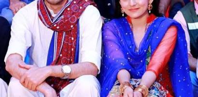 Host Sanam Baloch attends Mehndi Festival of her Brother Farhan