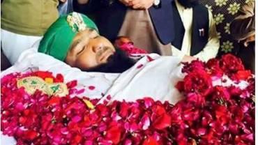 Mumtaz qadri shaheed namaz-e- janaza