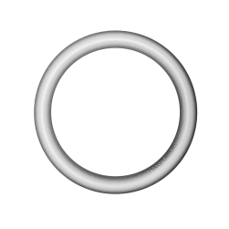 Mini pod Hoop soft silver