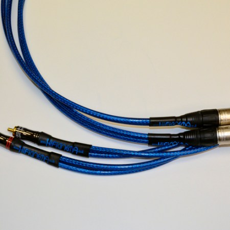 RCA to 2 x XLR Splitter interconnect