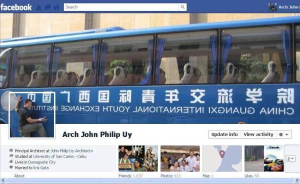 fbtimelinebus1 40 Creative Examples of Facebook Timeline Designs