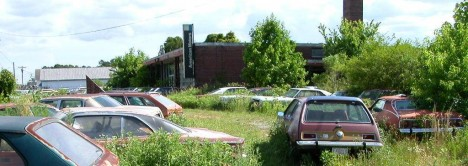 abandoned Collier Motors AMC Pikeville NC