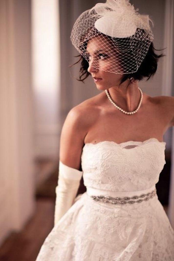 Wedding Fascinator Glam