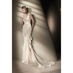 Small Crop Of Silk Wedding Dresses