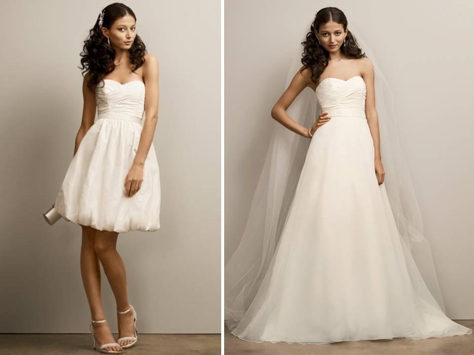 Two in One Wedding Dress Davids Bridal   Dream Wedding IdeaS Around ...