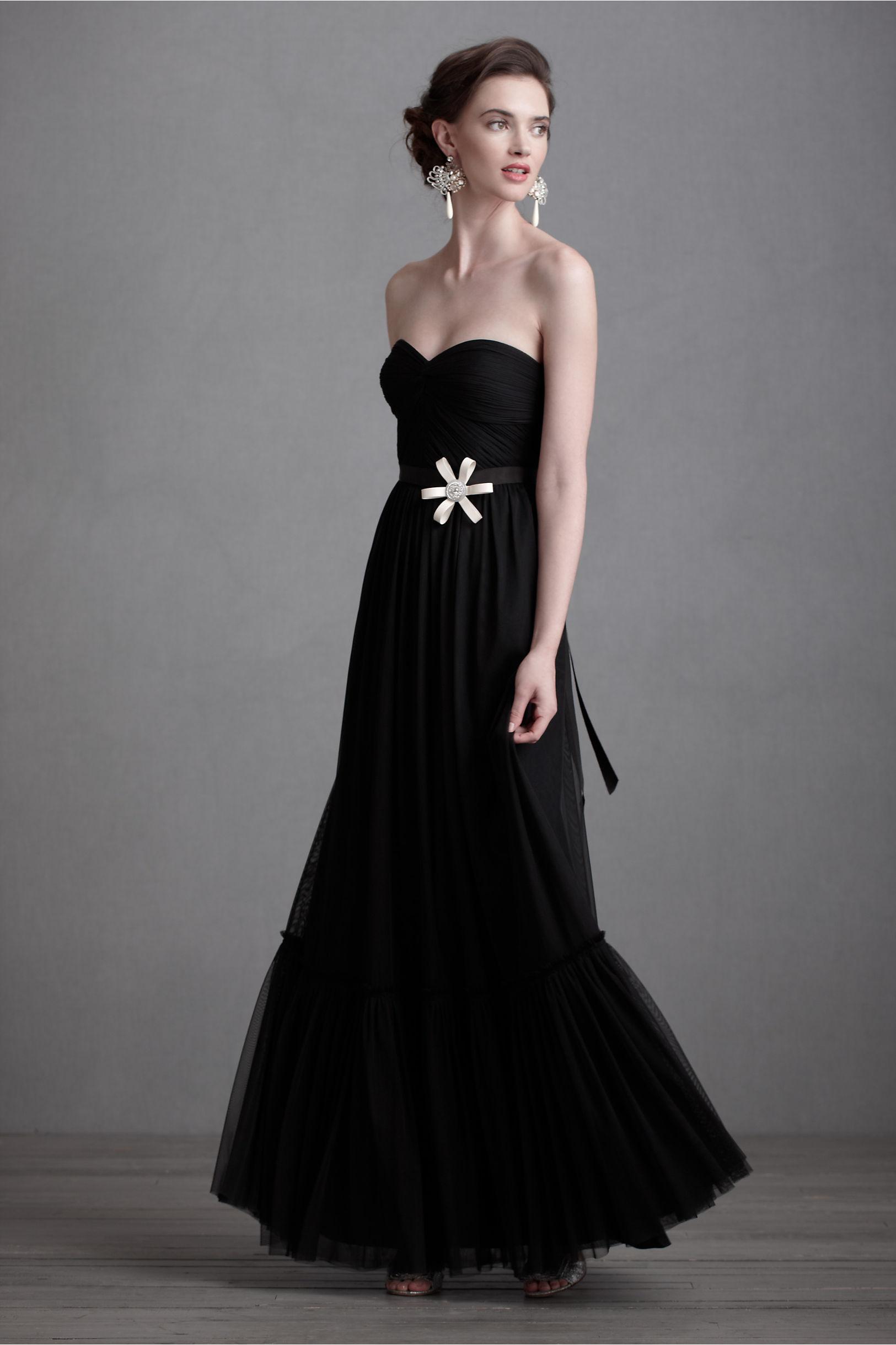 weddings with black bridesmaid dresses short black wedding dresses Weddings With Black Bridesmaid Dresses 23