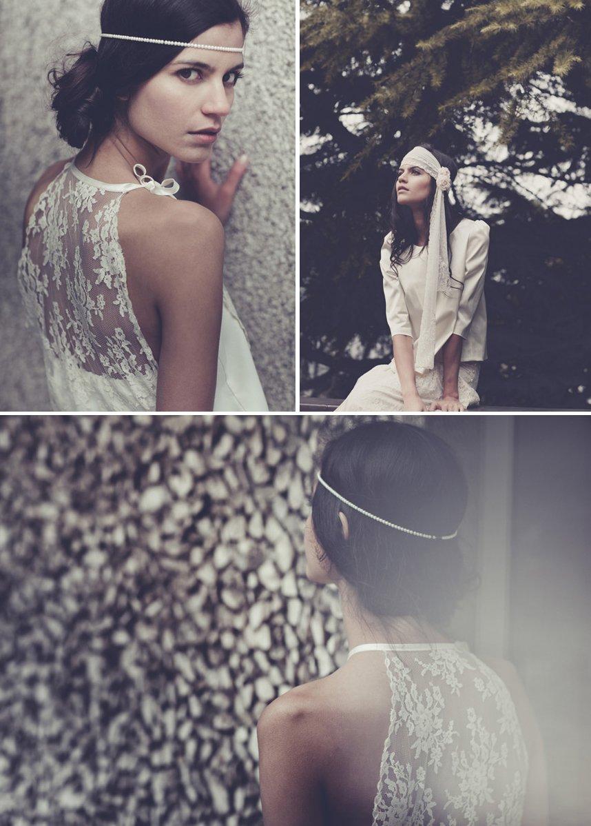 bohemian bridal style wedding dresses and accessories laure de sangaza bohemian style wedding dress Bohemian bridal style wedding dresses and accessories Laure de Sangaza