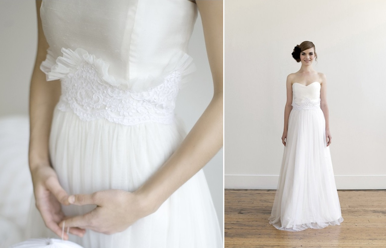 handmade wedding dresses Wedding Dresses Handmade Bridesmaid Dresses V Neck Chiffon