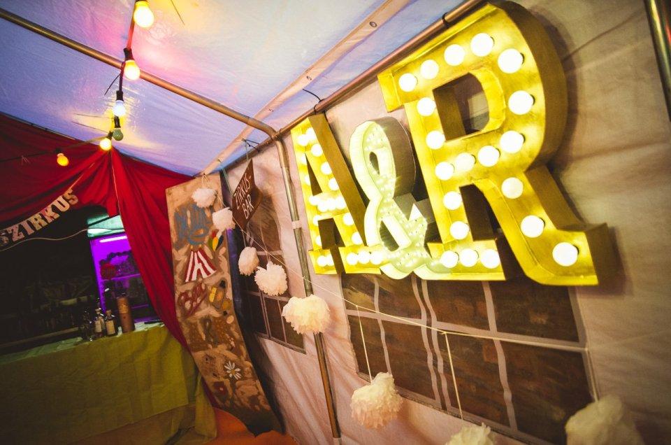 Hochzeitszirkus im Atelier-van-Eyk, Nettetal