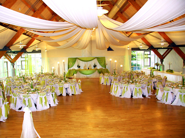 Choosing a nairobi wedding venue reception for Wedding hall decoration items