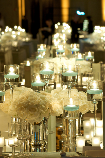 More Candle Centerpieces Wedding Dish