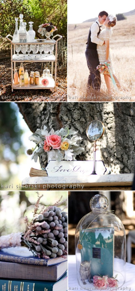 Shabby Chic Decor Collage