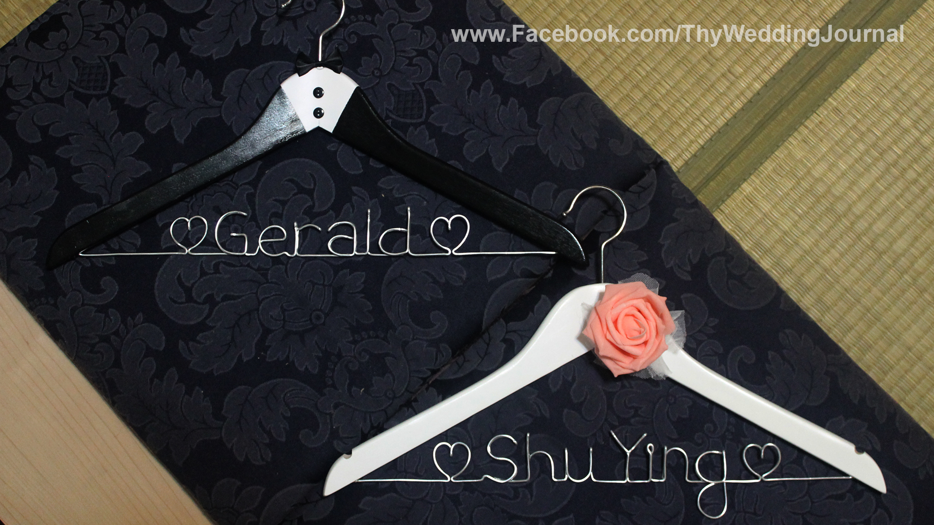 weddings wedding hangers Singapore Western Wedding Hanger