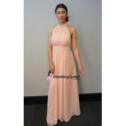 Small Crop Of Peach Bridesmaid Dresses