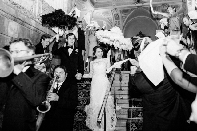 New Orleans Second Line Exit Nashville Wedding Photographer