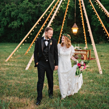 Boho Tipi Wedding Nashville Wedding Photographer