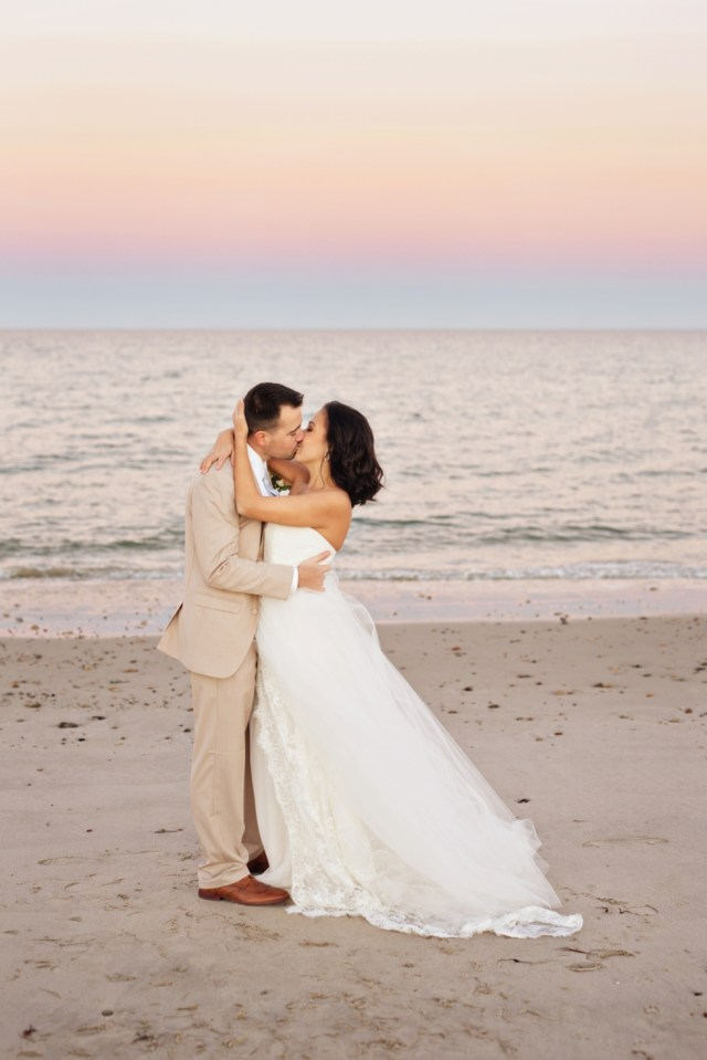 New England Oceanside Wedding | South Shore | Boston Wedding Photographer