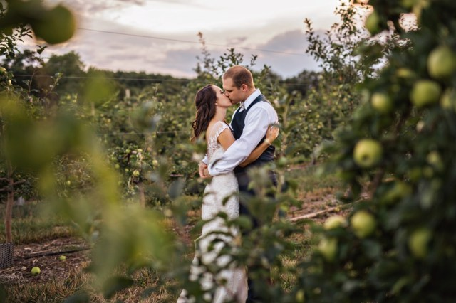 Smith Barn Wedding Peabody Apple Orchard Wedding Photographer