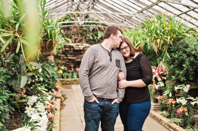 Cleveland Greenhouse Wedding Photographer